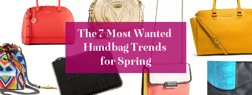 The 7 Most Wanted Handbag Trends for Spring