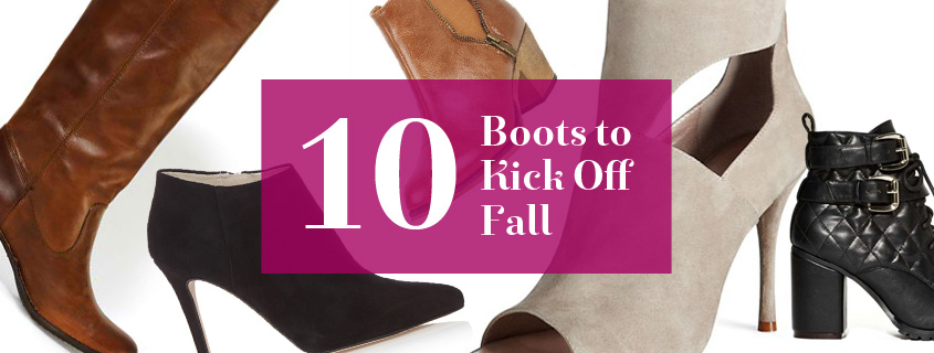 10 Boots to Kick Off Fall